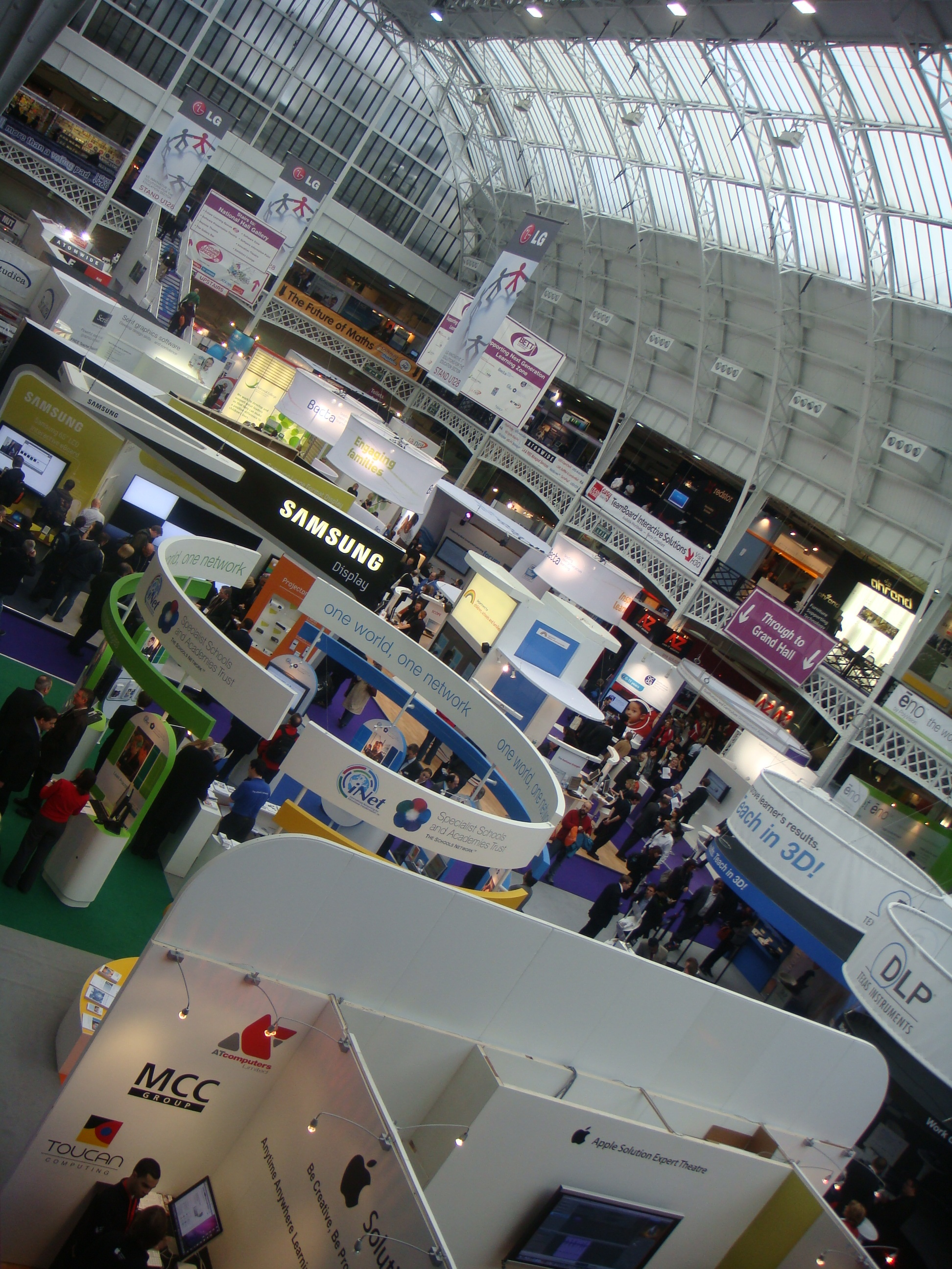 See you at BETT again in 2011