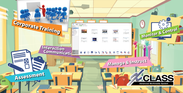 XCLASS - Multimedia Classroom Management Software
